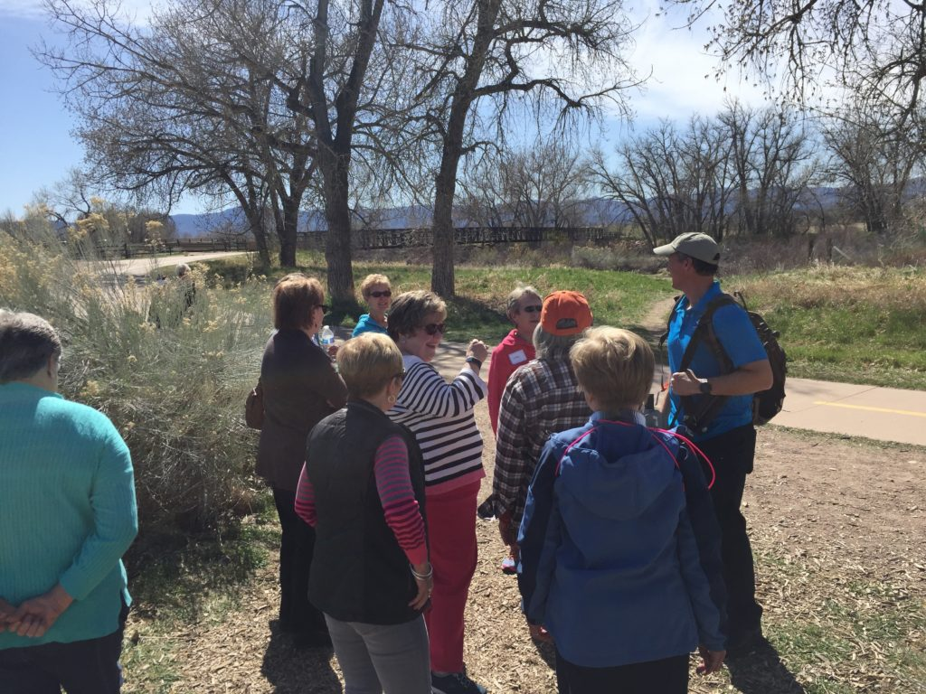 Bird Walk at Carson Nature Center
